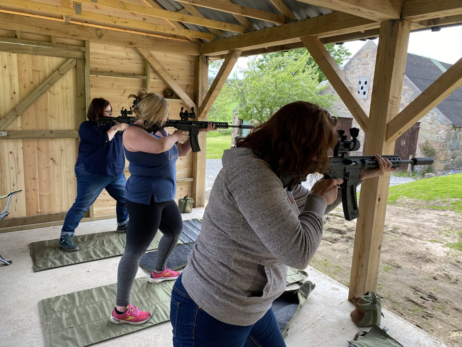 Our first all ladies shooting group
