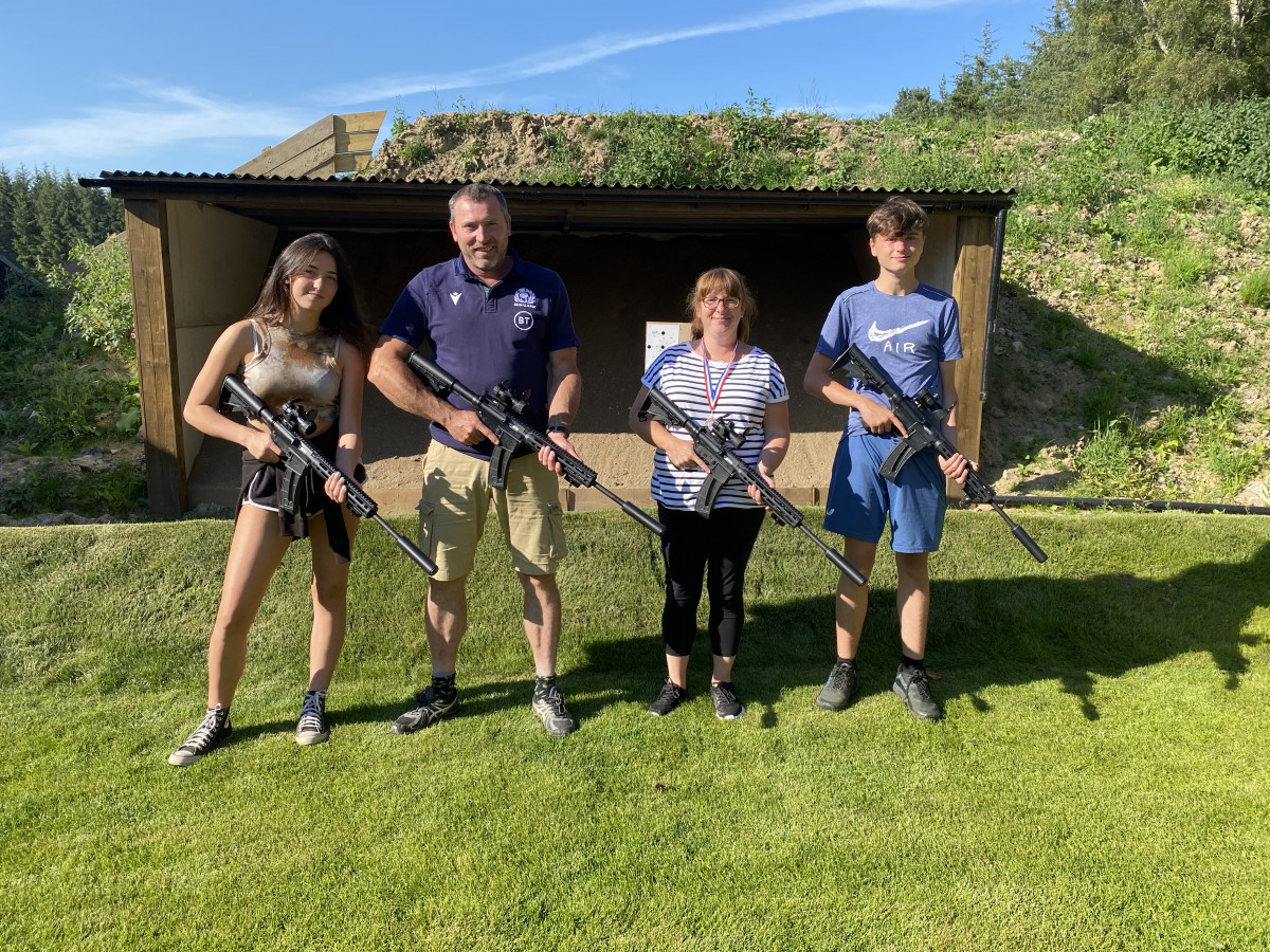 Family Shooting Competition 1